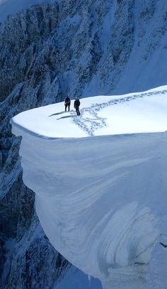 On the Edge, Mount Blanc, #France