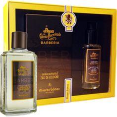 Agua de Colonia Barberia Cologne & Neutral Shampoo Boxed Set