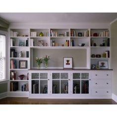 Built in bookcase - google.com