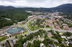 Beautiful Appalachian State University in the summertime!