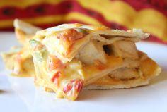 Queso Chicken Tortilla Bake? Genius.
