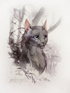 Cinderpelt by Flame-of-inspiration.deviantart.com on @DeviantArt