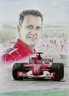 Michael Schumacher Tribute by machoart.deviantart.com on @deviantART