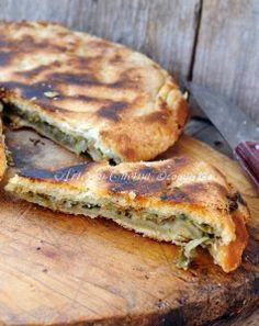 Pizza rustica di scarole e olive in padella vickyart arte in cucina