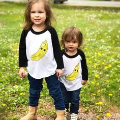 A bunch of cuties 🍌🍌 . Let Them Be Little, Little Ones, Baby Fashionista, Modern Kids, Stylish Kids, Top Knot, Twins, Sisters, Childhood