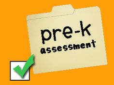 Me & Marie: Printables prek assessment