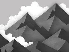 Mountains by Geri Coady