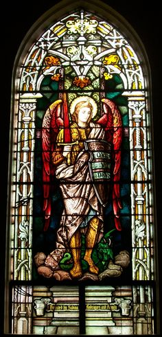 St. Michael the Archangel, St. Joseph Catholic Church, Maui, Hawaii