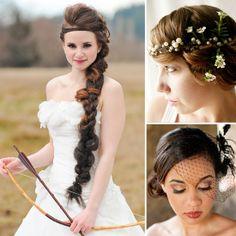 Pinterest Picks: 20 Gorgeous Wedding Hairstyles  - www.bellasugar.com