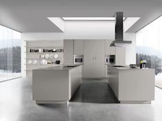 Laissez-vous séduire par les lignes fines et épurées du modèle Sincro Matt. #Cuisine #Design #Matt #PassionCuisinesElite