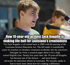 Zak Kopplin. Hope for the future.