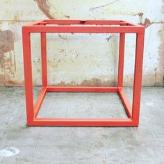 Cube metal table base by SteelImpression on Etsy Stainless Steel Table Legs, Metal Table Legs, Cleaning Wood, Wood Countertops, Industrial Metal, Wood Slab, Modern Table, Rectangle Shape, Loft