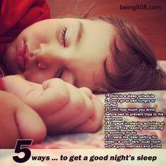 5 ways … to get a good night's sleep