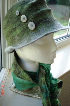 Sage Felt Hat