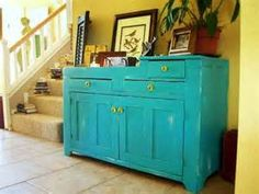 vintage painted furniture - - Yahoo Image Search Results
