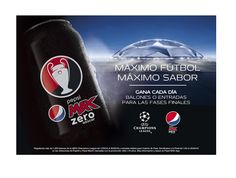 Amostras e Passatempos: Passatempo #MAXFOOTBALL by PEPSI MAX®