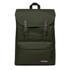 Eastpak Army Socks London Logo Backpack (€78) ❤ liked on Polyvore featuring bags, backpacks, army bag, backpack bags, eastpak, army backpack and day pack backpack