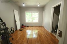 office floors @Sandra Powell {Sawdust Girl}.com