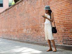 Summertime easy-- On the Street…Mott St., New York