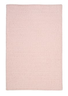 Features:  -Texture: Soft chenille.  -Color: Blush pink.  -Reversible.  -Vacuum with hard surface attachment only.  -Spot clean with any common household cleaner.  -Made in the USA.  Country of Manufa