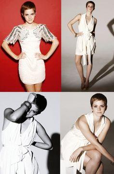 "anny20: ""  Especial Elenco de Harry Potter - Photoshoot - Emma Watson by The Sun 2010 """