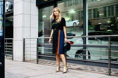 9月20日に幕を閉じたロンドンコレクション。ストリートには、今すぐ真似したいコーデやアイキャッチーなバッグ&シューズが盛り沢山。まずは人気モデルのリネイシィのキュートな笑顔からスタート!