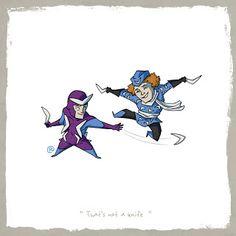 LITTLE FRIENDS - Boomerang & Captain Boomerang