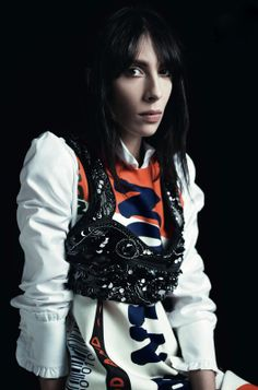 horreure:  Jamie Bochert by Willy Vanderperre for anOther spring/summer 2014