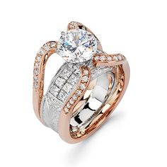 Two-Tone Spider Engagement Ring - Majestic Art Jewelry - Product Search - JCK Marketplace
