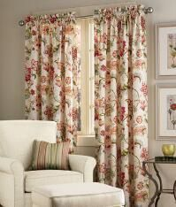 Exceptional Jacobean Floral Lined Grommet Top Curtains | Curtains U0026 Drapes | Pinterest  | Jacobean, Floral And Living Rooms