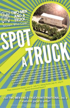 Our #SpotATuck #photocontest is underway! Just snap, submit and share your photo of one of our trucks for a chance to win $1,000!