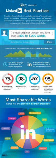 How to Get the Most Out of #LinkedIn [#INFOGRAPHIC]