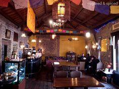 shanghai anna maya interior, restaurant vegetariano