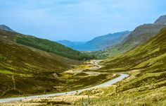 Road in Scotland – s