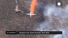 Un incendio forestal arrasa al menos 26 casas en Australia Meridional