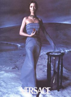 Versace Fall/Winter 1998 Audrey Marnay by Steven Meisel