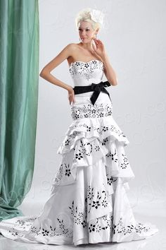 New Arrival Trumpet-Mermaid Sweetheart Dropped Waist Court Train Satin Wedding Dress CWLT13098