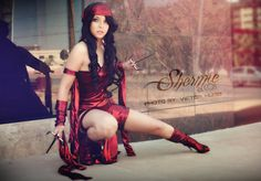 Elektra Natchios by Shermie-Cosplay.deviantart.com on @DeviantArt