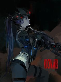 Widowmaker by JUNGAHLEE on deviantART