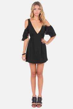 Salsa Dancer Backless Black Dress at LuLus.com!