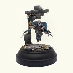 Warhammer FB | Empire | Grey Wizard #warhammer #aos #ageofsigmar #gw #wh #gamesworkshop #wellofeternity #miniatures #wargaming #hobby #whfb #fantasy