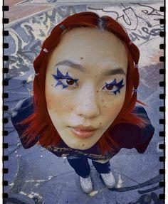 Edgy Makeup, Makeup Inspo, Makeup Art, Pose Reference Photo, Art Reference, Portrait Inspiration, Makeup Inspiration, Creative Makeup Looks, Oui Oui