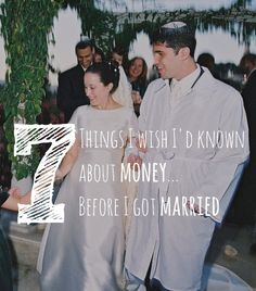 Hindsight is always 20-20, but I sure I wish I'd known these things about money when I first got married. I don't regret my mistakes -- mistakes are our greatest teacher -- but hopefully some other young bride will be able to avoid them all together with this sound money advice.  #personalfinance