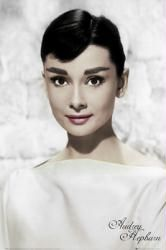 #Audrey #Hepburn #poster: #White (24'' X 36'') Only $6.97 from http://www.moviepostersetc.com
