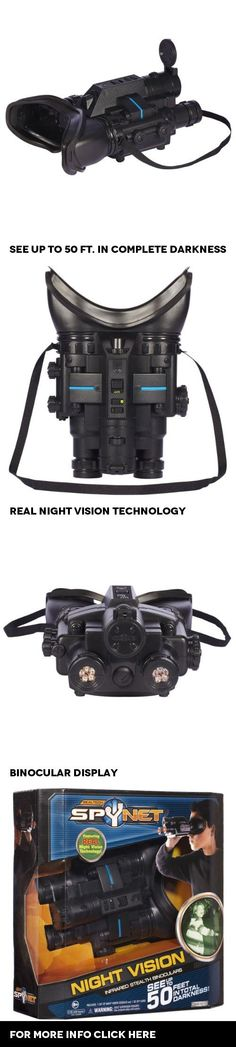 Spy Net Night Vision Infrared Stealth Binoculars, The Spy Net Night Vision Infrared Stealth Binoculars are the ultimate in spy tools. Spy Net Night Vision Infrared Stealth Binoculars * Real night vision technology * See up to 50 in complete darkness ..., #Toys, #Spy Gadgets