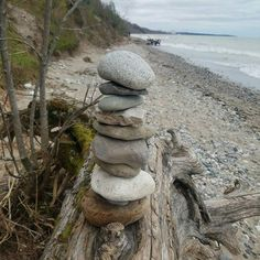 """""""Wish the world was a better place  Guy at lake Michigan  sent me this"""" - Peter  #wishmade #wishuponarock"""