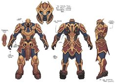 Character Model Sheet, Game Character Design, Character Modeling, Character Concept, Character Art, Character Outfits, Armor Concept, Concept Art, Armadura Steampunk