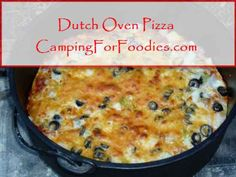 Best dutch oven dutch oven camping and camping recipes on for Healthy dutch oven camping recipes