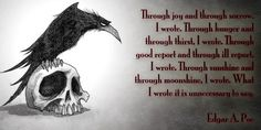 he wrote Edgar Allen Poe Authors, Writers, Edgar Allen Poe, A Writer's Life, Wise Words, Thoughts, Sayings, Live, Books