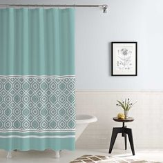 Found it at Wayfair - Jaida Waterproof Printed 14 Piece Shower Curtain Set